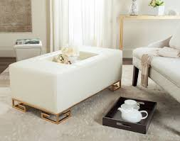 Coffee Table Or Ottoman - safavieh julian faux ostrich tray ottoman coffee table u2013 modish store