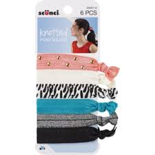scunci hair scunci knotted ponytailers cvs