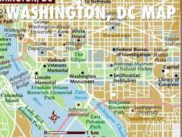 Smithsonian Map Washington D C By Liubinqing1997
