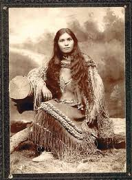 traditional cherokee hair styles antique photograph native american chiricahua woman elsie