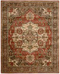 Red Area Rug by Nourison Jaipur Ja36 Red Area Rug Free Shipping