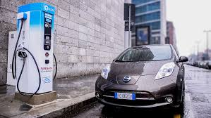 nissan leaf charging points eight new fast charging stations in milan frevue