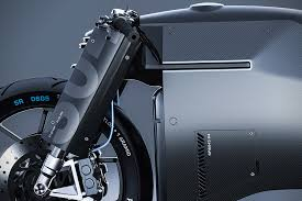 lexus is commercial motorcycle carbon fiber samurai motorcycle is fully electric does not