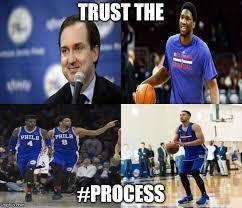 Nba Draft Memes - trust the process imgflip