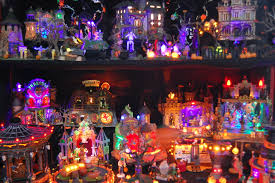 halloween village dept 56 vs lemax archive halloween forum