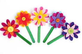 felt flowers felt flower bookmarks happiness is