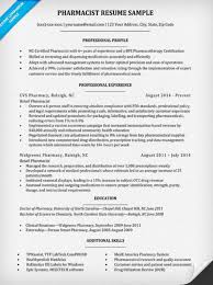 Resume Now Com Pharmacist Resume Sample U0026 Writing Tips Resume Companion