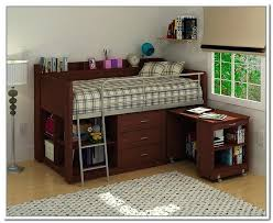 loft bed with storage and desk image of brown storage loft bed with desk canwood whistler