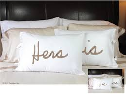 his and hers pillow cases his hers pillowcases for the home pillow cases