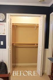 Over Door Bookshelf Our Under 100 Closet System Ikea Hack Southern Revivals
