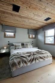 idée déco chambre à coucher deco chambre coucher couverture fourrure