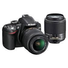 black friday dslr camera deals nikon d3200 digital slr camera with 2 lenses 499 99 black