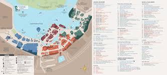 Starbucks Map May 2016 Walt Disney World Park Maps Photo 8 Of 14