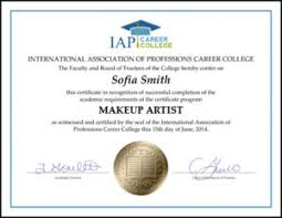 professional makeup artist certification become a makeup artist print book