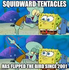 Funny Spongebob Memes - evil squidward imgflip