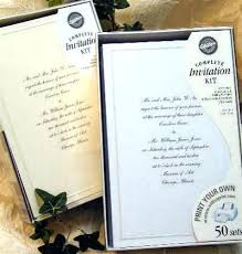 wilton wedding invitations wilton wedding invitation kit scrollwork gold kits fresh