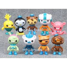 octonauts cake toppers the octonauts figurine set cake topper 9 pcs set b 11street