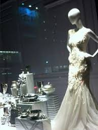 bridal window display from refined design studio blog at mannequin