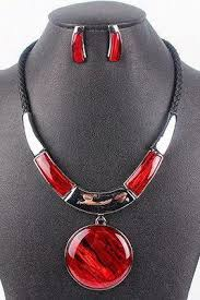 red fashion necklace images Necklaces statement necklace pendants lockets luulla jpg