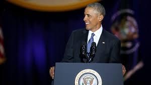 transcript of president barack obama u0027s farewell speech chicago