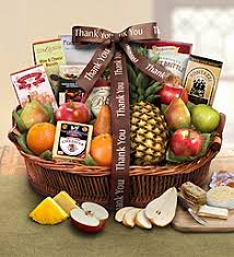 thank you baskets thank you gift baskets food gift 1800baskets