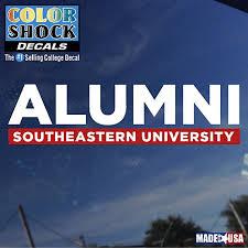 alumni decal southeastern alumni decal southeastern