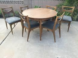 Drexel Dining Room Furniture John Van Koert For Drexel Profile Dining Table And Chairs U2014 The