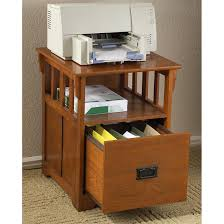 mission style end table file cabinet 144522 office at
