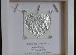 tenth anniversary gifts 7 10 wedding anniversary gift 1000 ideas about 10th anniversary