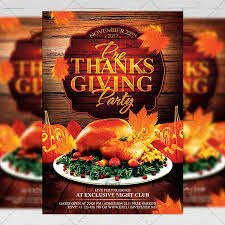 thanksgiving flyers exclsiveflyer free and premium psd templates