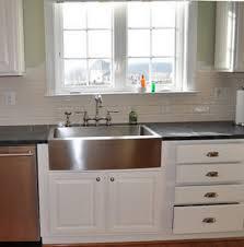 Elegant Stainless Steel Undermount Farmhouse Sink Kohler Verity - Kohler stainless steel kitchen sinks undermount