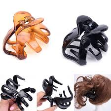 claw hair 2017 new big size 7 5 4 5cm women octopus claw hair clip hairpin