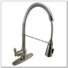 Kingston Brass Kitchen Faucet Sink U0026 Faucet Industrial Signature Pull Down Kitchen Faucets