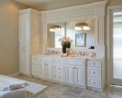 Bathroom Linen Closet Ideas Bathroom Vanity With Linen Cabinet