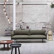 canape muji canape canape muji awesome muuto canapé outline sofas of