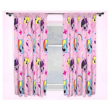 Pink Pleated Curtains Buy My Little Pony Equestria Pencil Pleat Curtains Pink 54 X 66