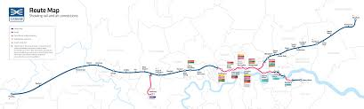 Map Route Maps Crossrail