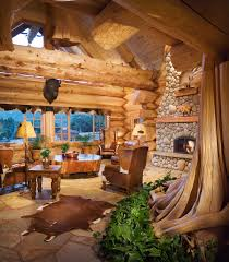Log Cabin Luxury Homes A Handcrafted Energy Efficient Log Home In California