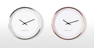 aurelia wall clock copper made com