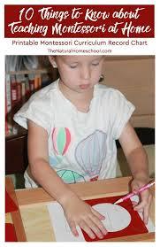 printable montessori curriculum 10 things to know about teaching montessori at home montessori