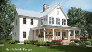 farmhouse building plans 2 house plan with covered front porch car garage porch