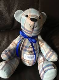 remembrance teddy bears memory handmade with memory keepsake