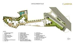 Butterfly Garden Layout by Lodha Codename Bullseye Master Plan For Codename Bullseye By