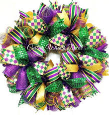 mardi gras deco mesh mardi gras wreath tuesday wreath mardi gras deco mesh wreaths