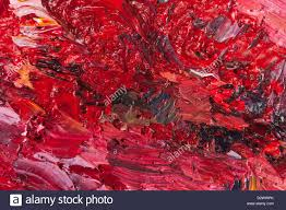 Paint Pallet by Impasto Detail Of Oil Paint Brush Strokes And Pallet Knife In A