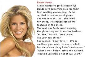 Blonde Meme - blonde bambi blonde jokes