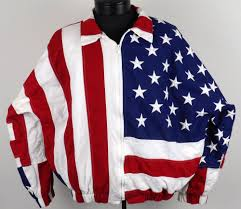 Why Is The American Flag Red White And Blue Limited Edition American Flag Jacket Stars U0026 Stripes Mens Xl Red
