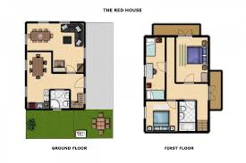 The Red Cottage Floor Plans by The Red House Think Slovenia
