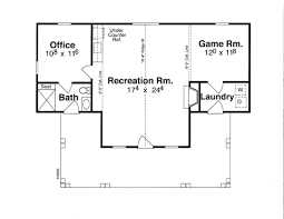 home addition plan 1125