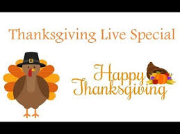 thanksgiving live special 11 22 17